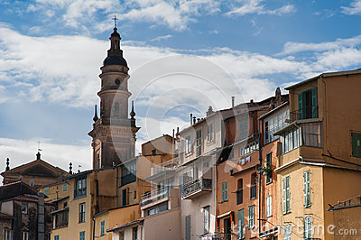 Menton, France Editorial Image