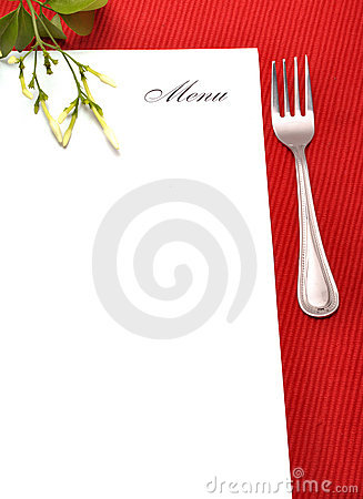 Free Menu Card Royalty Free Stock Photography - 10742557
