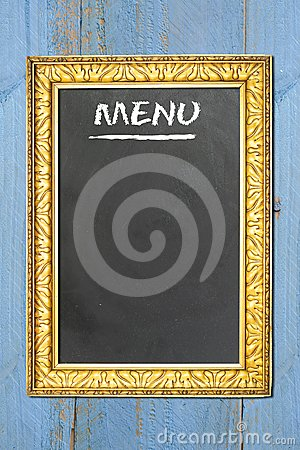 menu free copy space