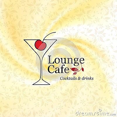 Menu lounge cafe