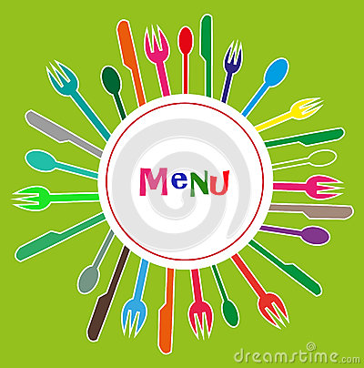 Menu for restaurants