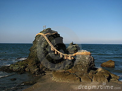 Meoto Iwa (Wedded Rocks)