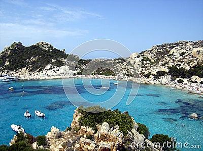 Mer de la Sardaigne
