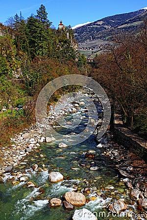 Merano river
