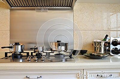 Mercadorias e dispositivo da cozinha
