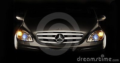 The Mercedes benz. Editorial Stock Image