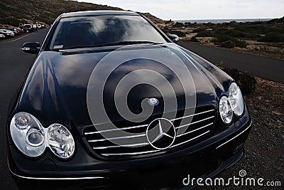 Mercedes Benz Editorial Photo