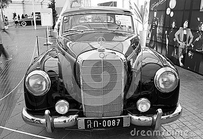 Mercedes-Benz 300B, Vintage cars Editorial Photo