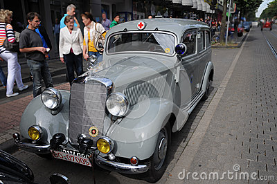 Mercedes-Benz 300B, Vintage cars Editorial Stock Image