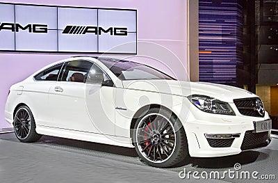 Mercedes Benz C63 AMG Editorial Image