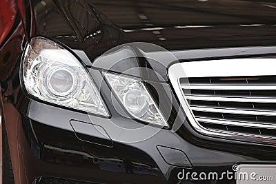 Mercedes Benz Car Head Light