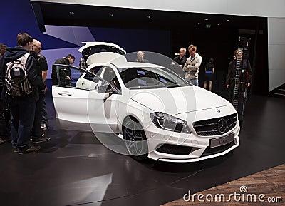 Mercedes Benz Class A 2012 Editorial Photography