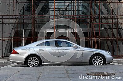 Mercedes-Benz CLS-Class Editorial Stock Photo
