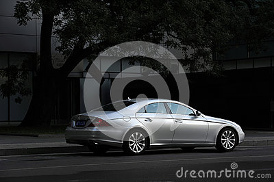 Mercedes-Benz CLS-Class Editorial Stock Photo