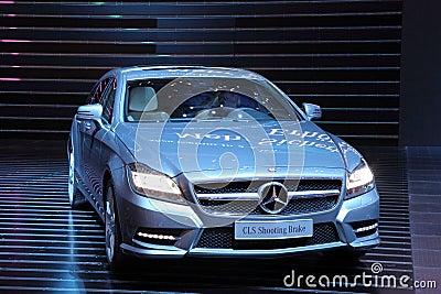 Mercedes Benz CLS Shooting Brake Editorial Image