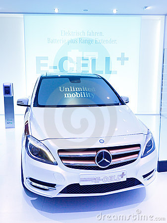 Mercedes-Benz Concept B-Class E-Cell Plus Editorial Photo