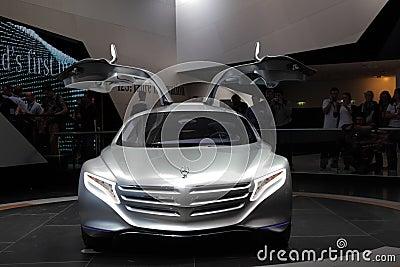 Mercedes Benz Concept Car F125 Editorial Image