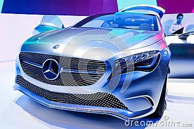 Mercedes-Benz Concept A-Class Editorial Stock Image