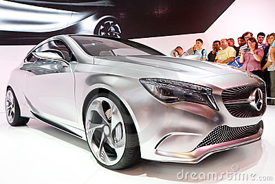 Mercedes-Benz Concept A-Class Editorial Stock Image