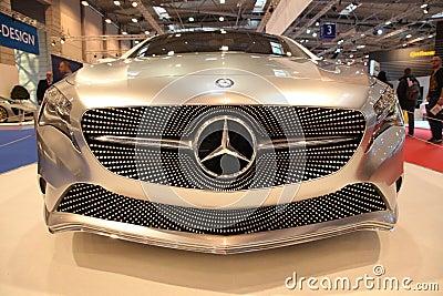 Mercedes Benz Concept A Class Editorial Image