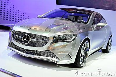 Mercedes-Benz Concept A-class Editorial Image