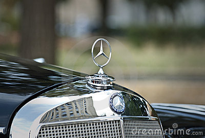 Mercedes-Benz emblem Editorial Stock Image