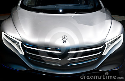 Mercedes Benz F125 Concept Car on IAA 2011 Editorial Photo