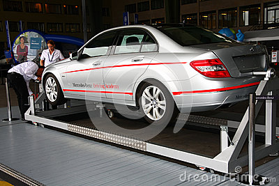 Mercedes Benz and Friends Berlin 2011 Editorial Stock Image
