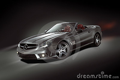 Mercedes-Benz SL Convertible Editorial Photo