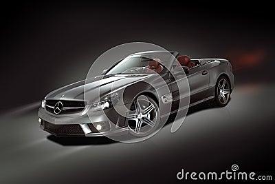 Mercedes-Benz SL Convertible Editorial Photo