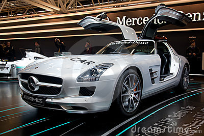Mercedes Benz SLS AMG Editorial Photo