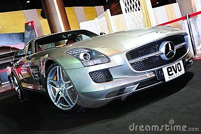 Mercedes Benz SLS AMG Editorial Stock Image