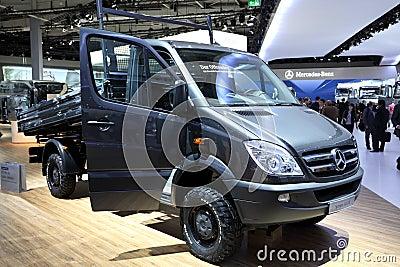 Mercedes Benz Sprinter Editorial Image