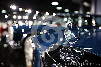 Mercedes benz symbol editorial stock image image 53616284 for Mercedes benz stock symbol