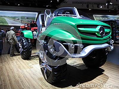 Mercedes Benz Unimog Concept Editorial Stock Photo