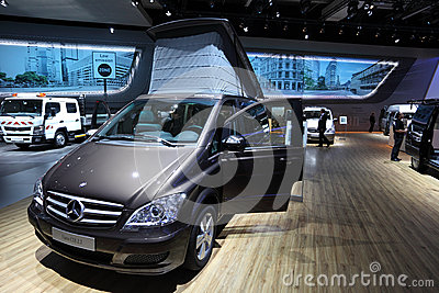 Mercedes Benz Viano Camper Editorial Stock Image