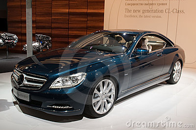 Mercedes CL-Class New generation - world premiere Editorial Photography