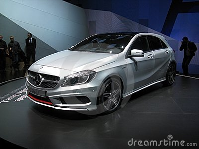 Mercedes A Class Editorial Stock Image