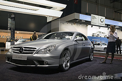 Mercedes CLS 350 CGI Editorial Photography