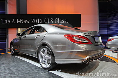 Mercedes CLS 550 Editorial Stock Photo