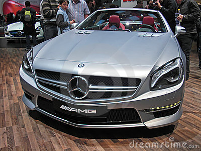 Mercedes CLS AMG Editorial Photography