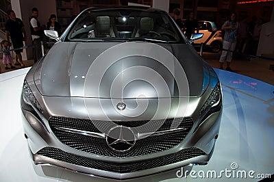Mercedes Concept A-Class Editorial Stock Photo