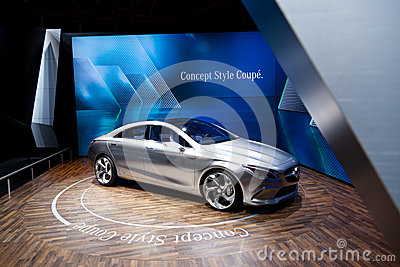 Mercedes Concept Style Coupe Prototype Editorial Stock Photo
