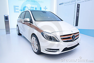 Mercedes E-CELL Editorial Stock Photo