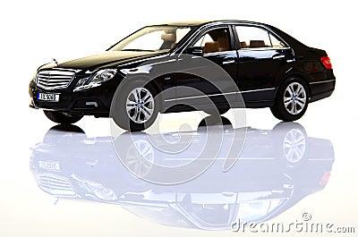 Mercedes e-class Editorial Stock Photo