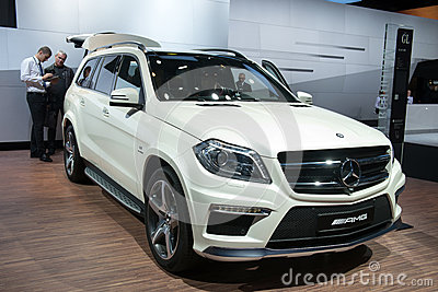 Mercedes GL 63 AMG - world premiere Editorial Photography