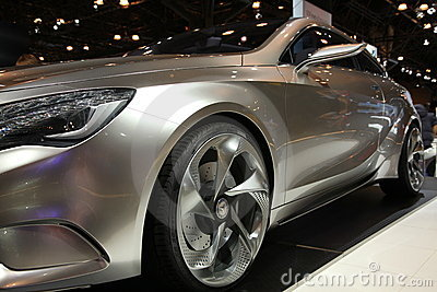 Mercedes at NY International Auto Show Editorial Photography