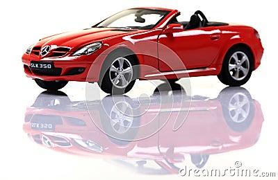 Mercedes SLK 350 Editorial Image