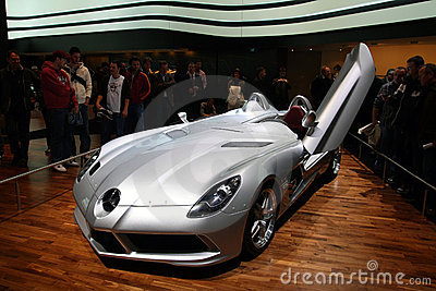 Mercedes SLR Stirling Moss, Geneva Motor Show 2009 Editorial Photo