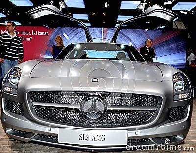 Mercedes SLS AMG Editorial Stock Image